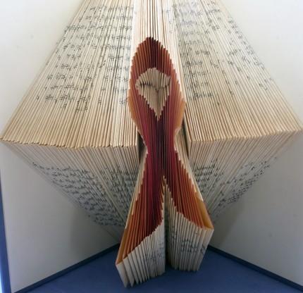 Хенд мейк -  оригами из книг — фото 2