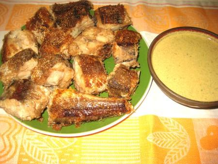Жареная рыба под грузинским соусом баже — фото 6