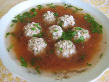Гупта или суп с фрикадельками — фото 1