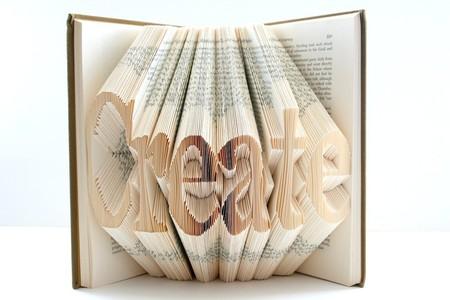 Хенд мейк -  оригами из книг — фото 3