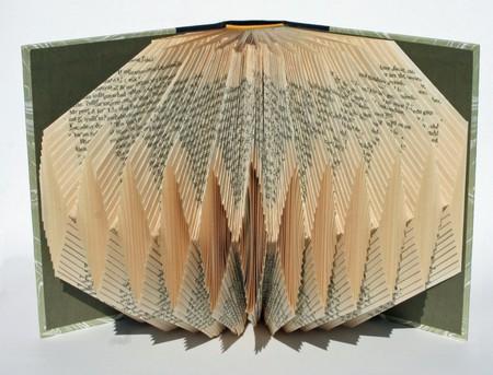 Хенд мейк -  оригами из книг — фото 11