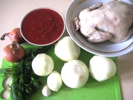 Чахохбили – фазан из курицы — фото 2