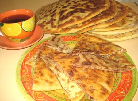 Лобиани - лепешки с фасолью — фото 14