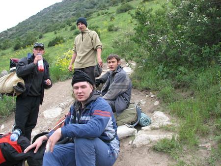 Альпинизм...Восхождение на пик Комсомолец — фото 4