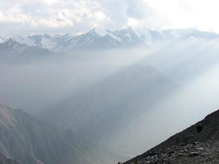 Альпинизм...Восхождение на пик Комсомолец — фото 10