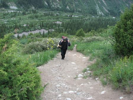 Альпинизм...Восхождение на пик Комсомолец — фото 3