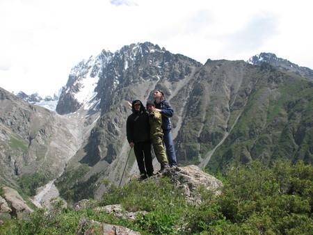 Альпинизм...Восхождение на пик Комсомолец — фото 8