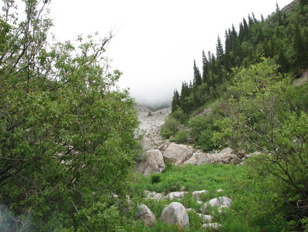 Альпинизм...Восхождение на пик Комсомолец — фото 7