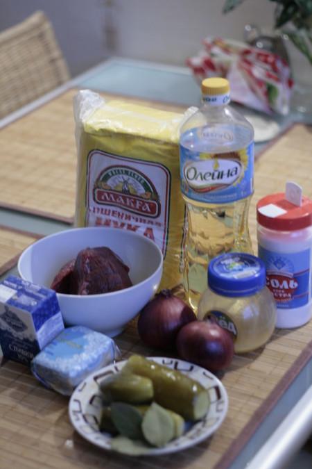 Говядина с медом и солеными огурцами — фото 2