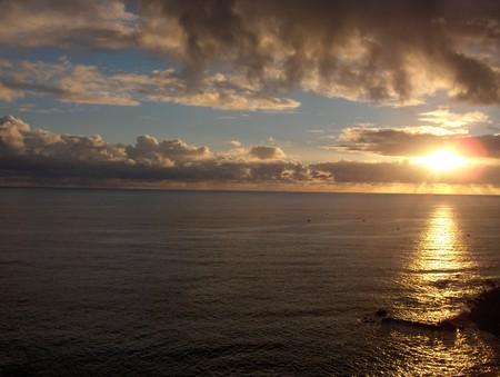 вид на океан с нашего балкона