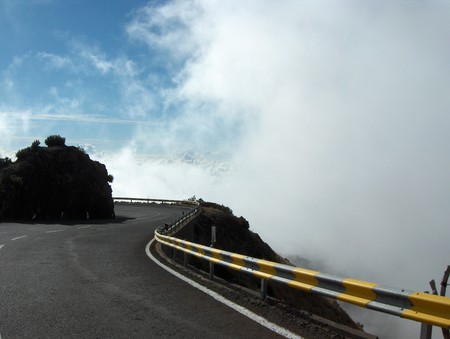 это не поднявшийся туман — это облако