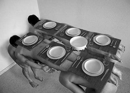 Мебель из человеческих тел Дэвида Бласкеса — фото 5
