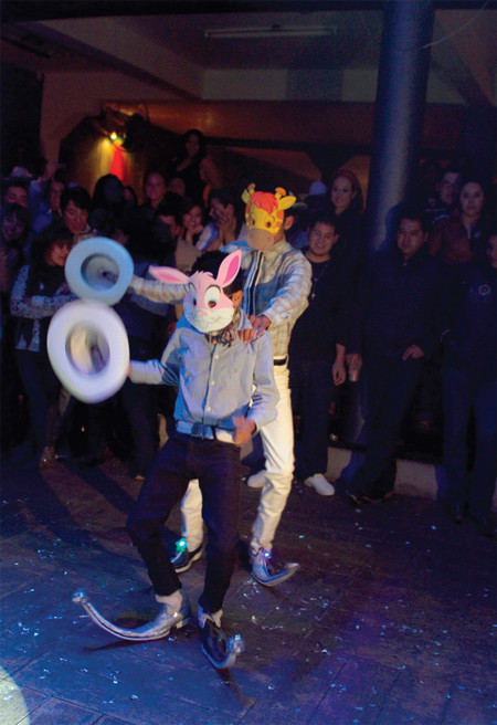 Выступление в ночном клубе