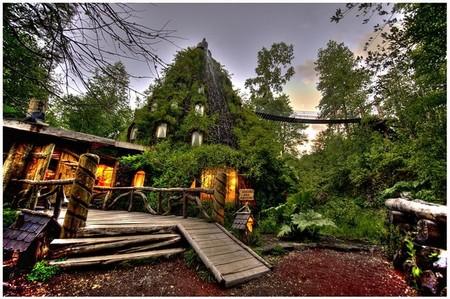 Magic Mountain Lodge - отель-вулкан в девственных лесах Патагонии — фото 21