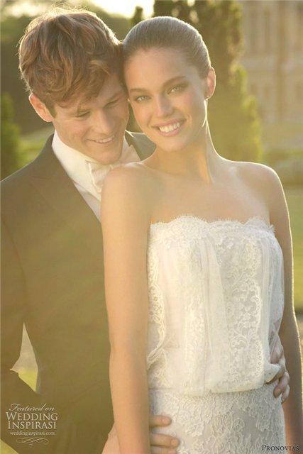 Весенне-летняя коллекция свадебных платьев от Pronovias  2013 — фото 26