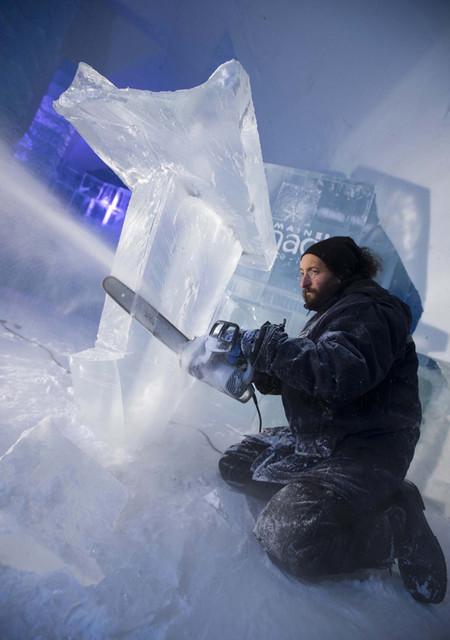 Ледяной отель. Квебек — фото 25