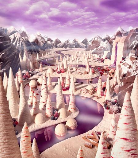 Уникальные пейзажи из еды Карла Уорнера — фото 13