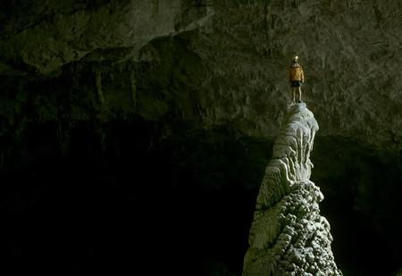 Крубера-Воронья  - самая глубокая карстовая пещера в мире — фото 20