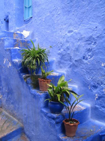 Небесно-голубой город Шауен — фото 10