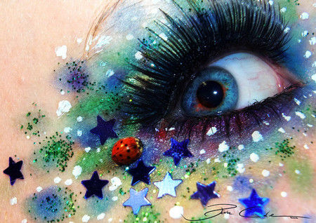 Фантастический макияж от немецкой художницы Свеньи Йодике — фото 5
