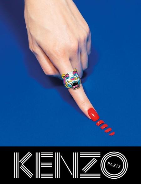 Оригинальные сюрреалистические коллажи в рекламной кампании Kenzo для коллекции осень-зима 2014 — фото 6