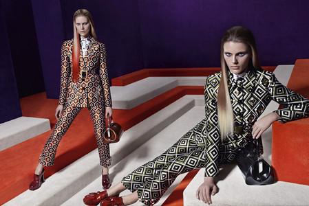 Новые веяния Prada в осеннее-зимней коллекции 2012-2013. Одежда — фото 8