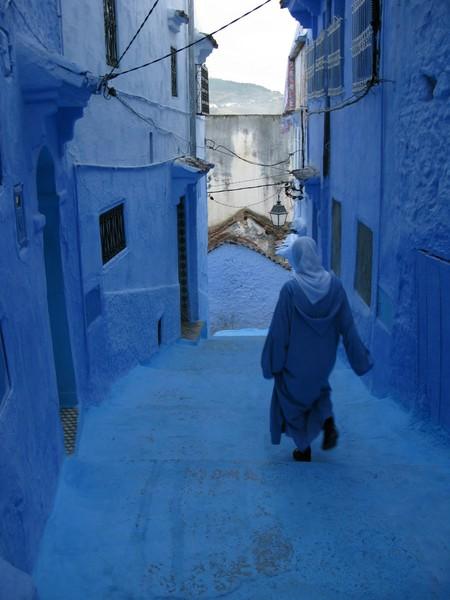 Небесно-голубой город Шауен — фото 5