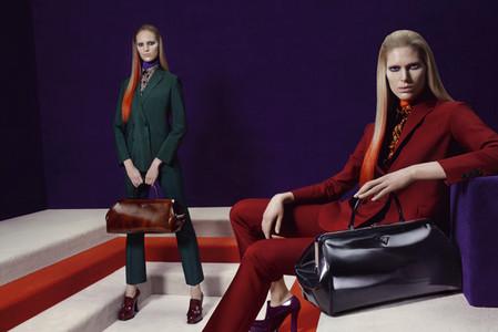 Новые веяния Prada в осеннее-зимней коллекции 2012-2013. Одежда — фото 11