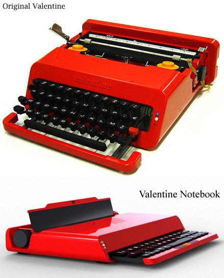 Прототип знаменитой печатной машинки Olivetti Valentin