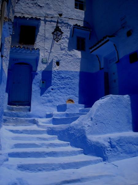 Небесно-голубой город Шауен — фото 25