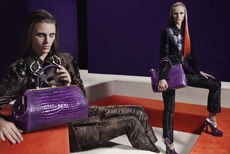 Новые веяния Prada в осеннее-зимней коллекции 2012-2013. Одежда — фото 5