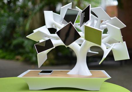 Electree - экологическое зарядное устройство на солнечных батареях — фото 3