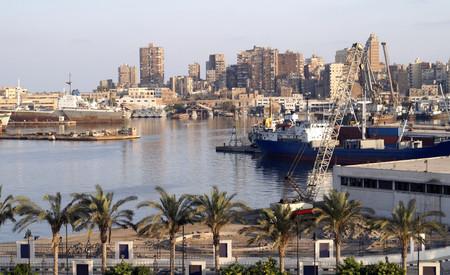Александрия — главный морской порт Египта