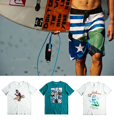 К шортам можно подобрать тематическую футболку