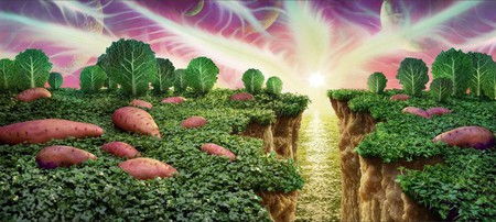 Уникальные пейзажи из еды Карла Уорнера — фото 6