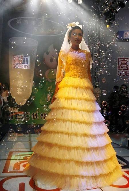 Обзор самых оригинальных идей для свадебного платья — фото 11