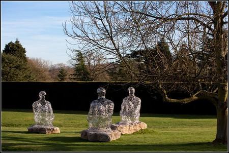 Сплетение слов из стихотворений в скульптурах Жаума Пленса — фото 6