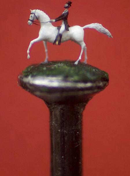 Миниатюрный арт знаменитого мастера микроскульптур Уилларда Уигана — фото 6