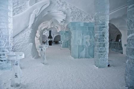 Ледяной отель. Квебек — фото 8