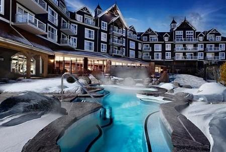 Подборка самых красивых зимних бассейнов на известных горнолыжных курортах мира — фото 6
