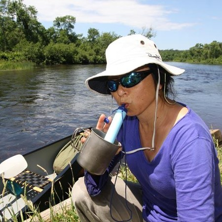 С таким фильтром не страшно и на Амазонку отправиться )