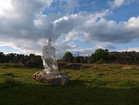 Сплетение слов из стихотворений в скульптурах Жаума Пленса — фото 5