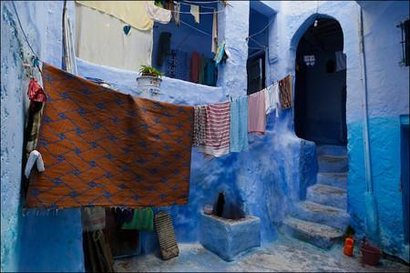 Небесно-голубой город Шауен — фото 32