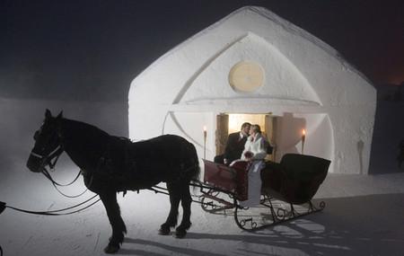 Ледяной отель. Квебек — фото 20