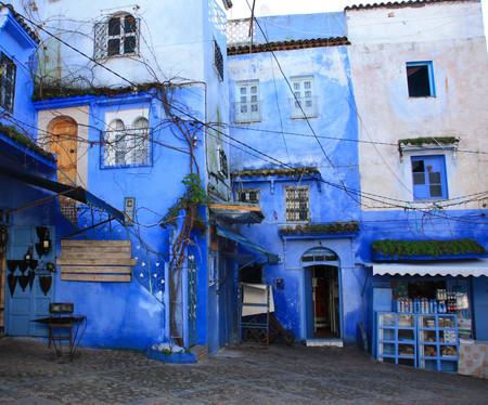 Небесно-голубой город Шауен — фото 23