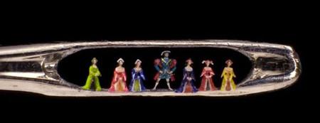 Миниатюрный арт знаменитого мастера микроскульптур Уилларда Уигана — фото 15