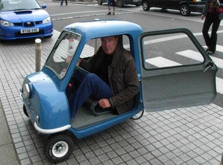 Peel Р 50 - самый крохотный серийный автомобиль — фото 13