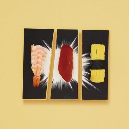 Арт-тарелки от Мики Цутай для любителей суши, посуды и комиксов — фото 4