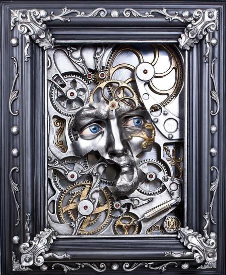 """Картина """"Механический Давид"""""""