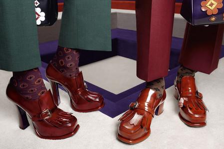 Новые веяния Prada в осеннее-зимней коллекции 2012-2013. Одежда — фото 20